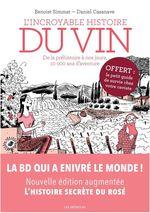 Vente Livre Numérique : L'incroyable histoire du vin (3e édition)  - Benoît Simmat