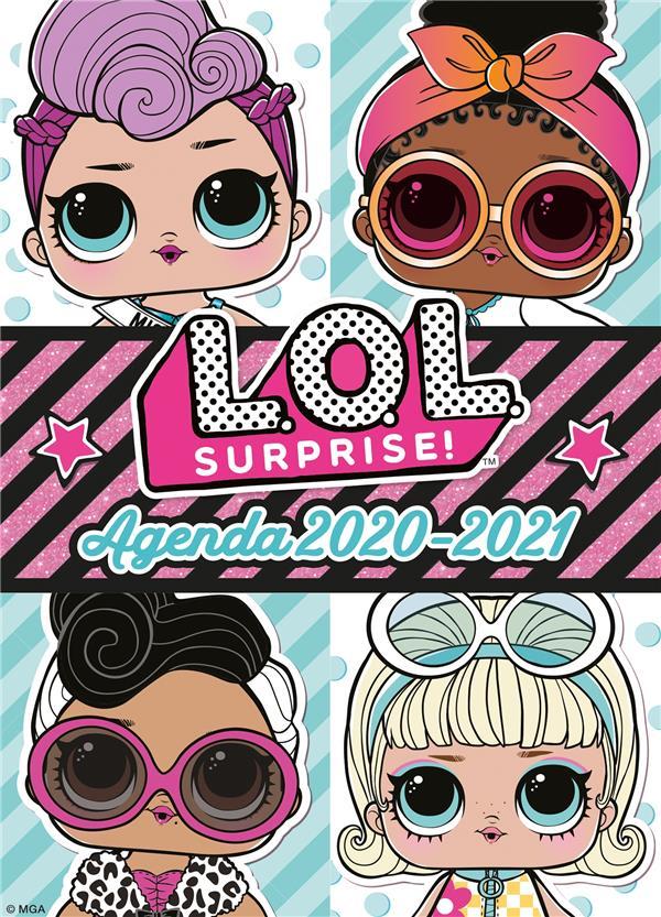 L.O.L. surprise ! ; agenda (édition 2020/2021)