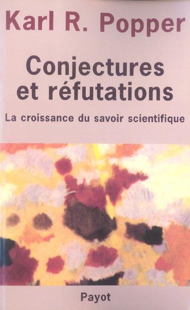 conjectures et refutations