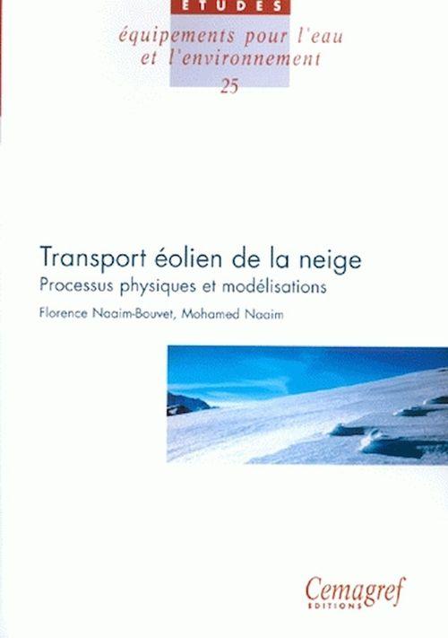 Transport éolien de la neige ; processus physiques et modélisations