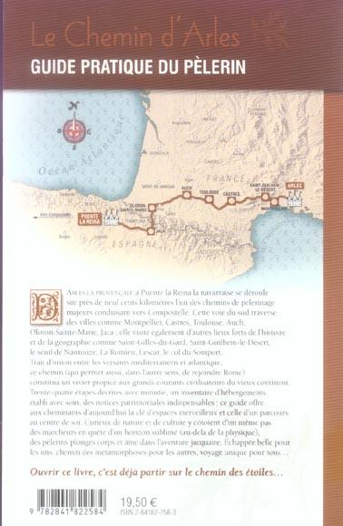 Le chemin d'arles vers saint-jacques-de-compostelle ; la voie du sud