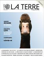 Couverture de La terre n 2 - grippe aviaire - mars 2021 - le magazine du vivant