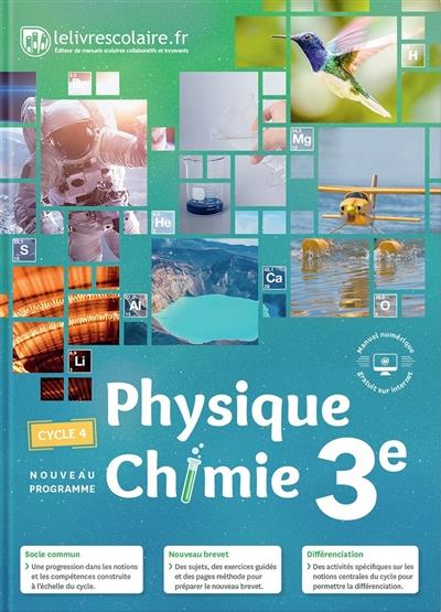 Physique-chimie ; 3e (édition 2017)