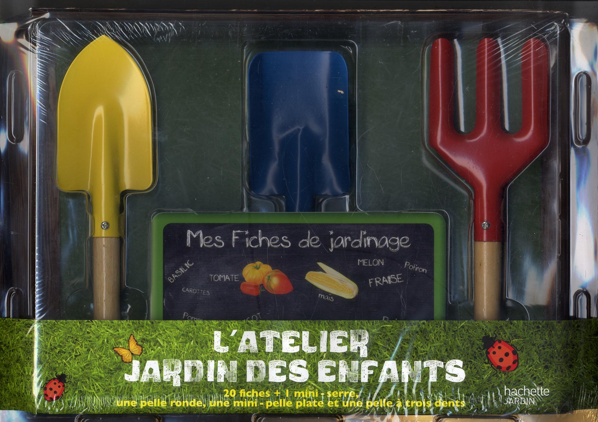 L'Atelier Jardin Des Enfants ; Coffret