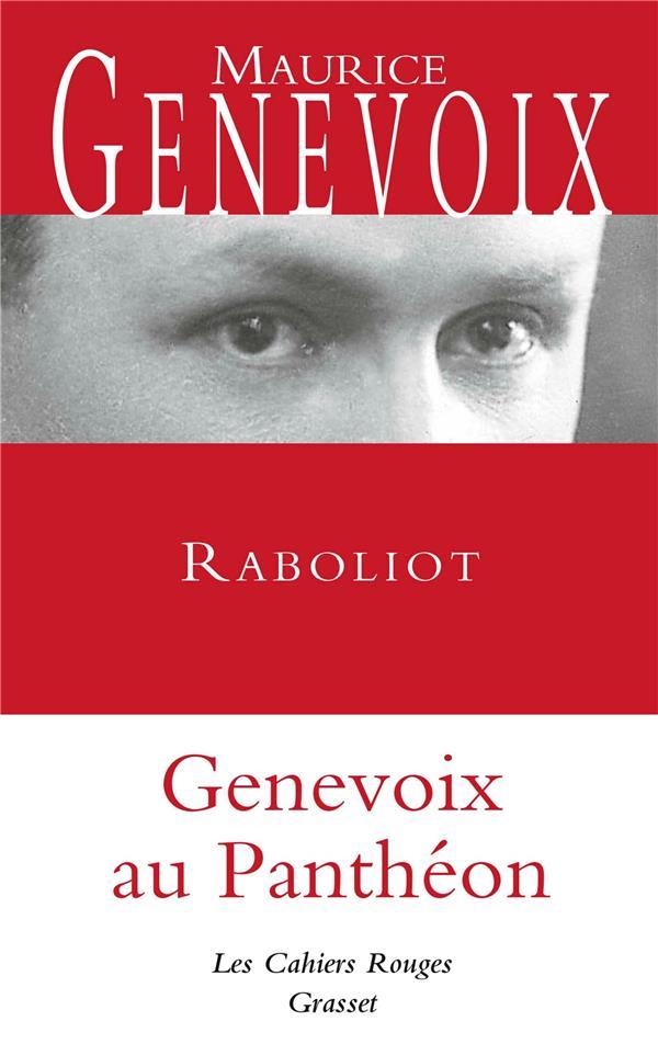 Raboliot ; Genevois au Panthéon