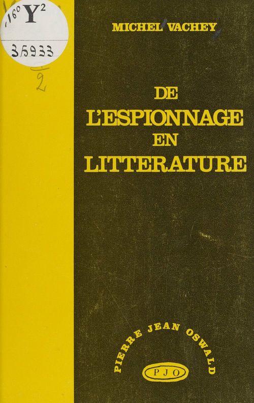 De l'espionnage en littérature