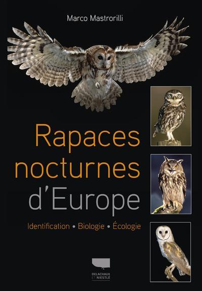 Rapaces nocturnes d'Europe ; identification, biologie, écologie