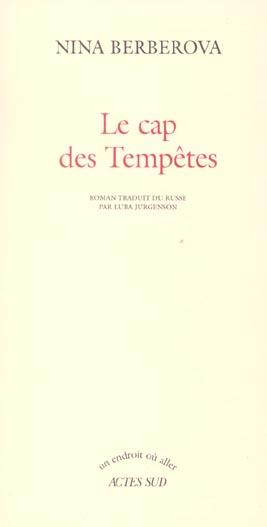 Le Cap Des Tempetes