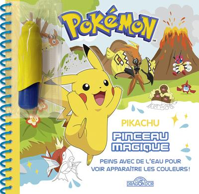 Pokemon Pinceau Magique Pikachu The Pokemon Company Les