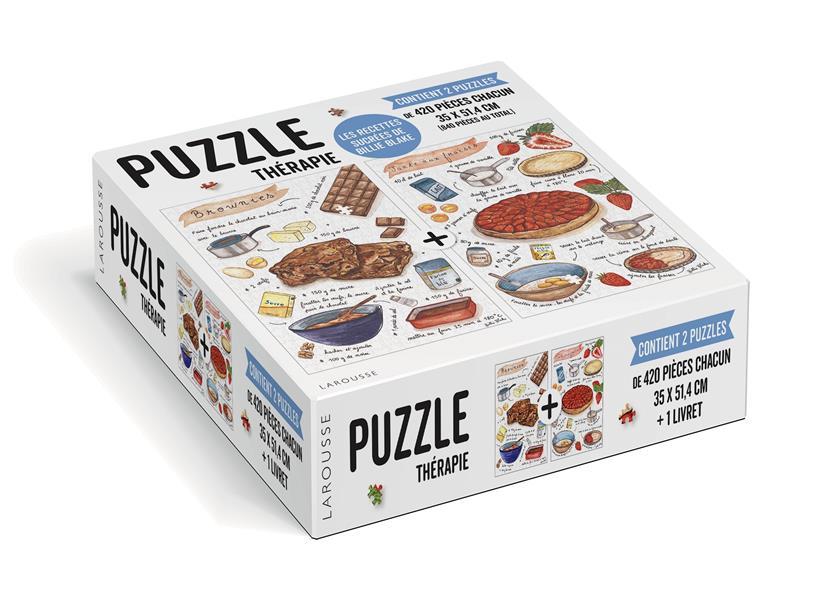 Puzzle thérapie ; les recettes sucrées de Billie Blake