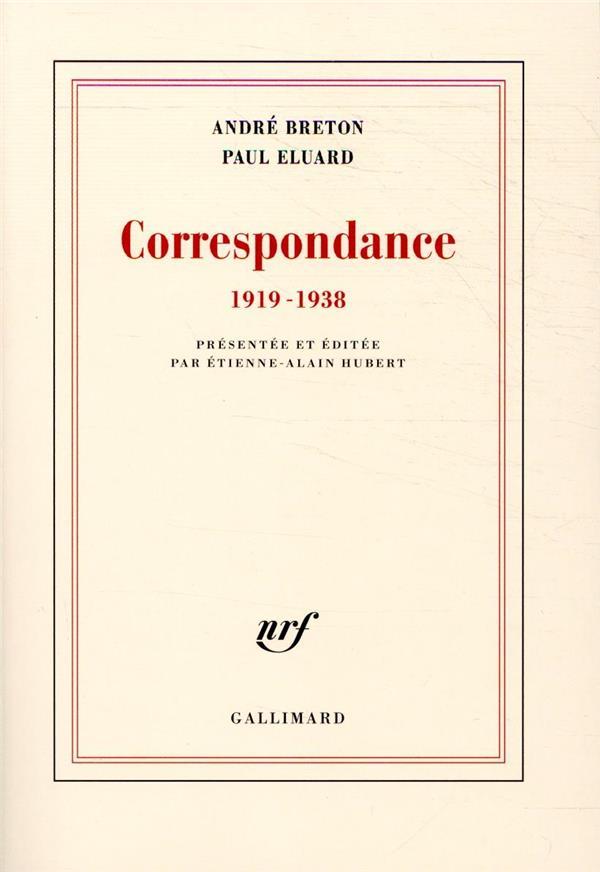 CORRESPONDANCE  -  1919-1938