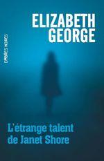 Vente Livre Numérique : L'étrange talent de Janet Shore  - Elizabeth George