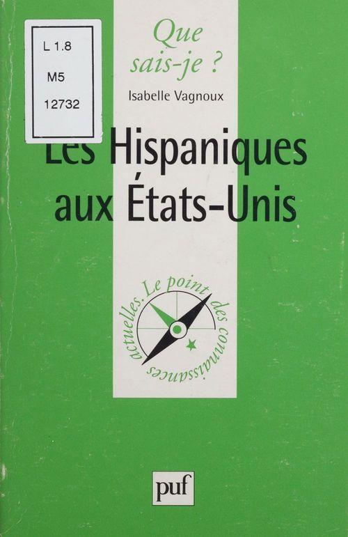 Les hispaniques aux Etats-Unis