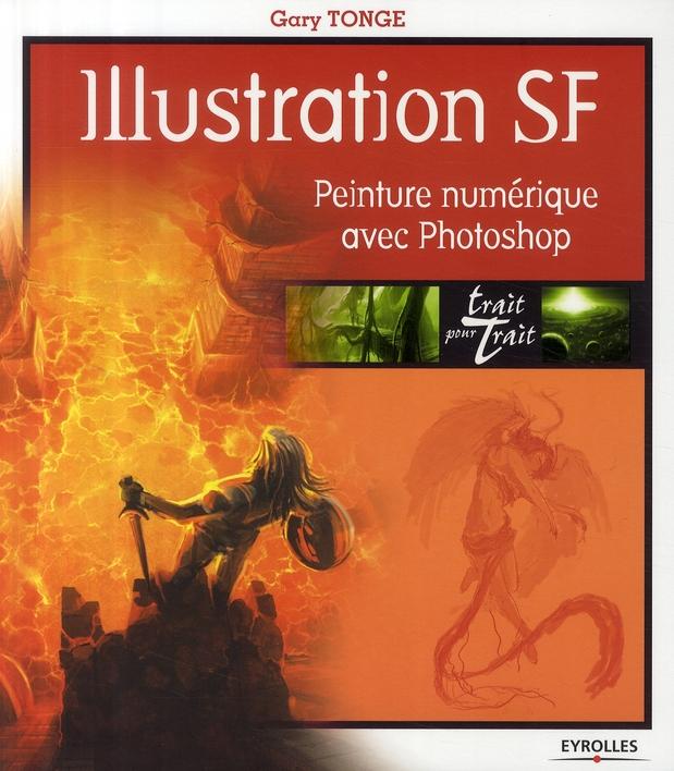 Illustration SF ; peinture numérique avec Photoshop