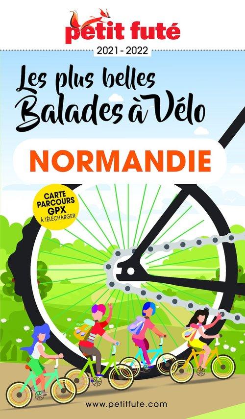 GUIDE PETIT FUTE ; THEMATIQUES ; balades à vélo, Normandie (édition 2021/2022)