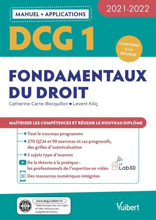 DCG t.1; fondamentaux du droit