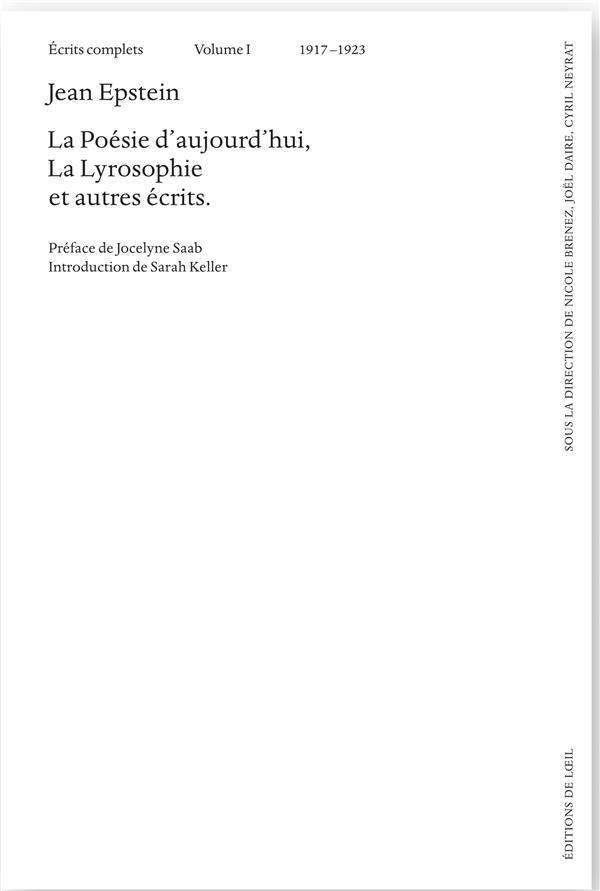 écrits complets t.1 ; 1917-1923