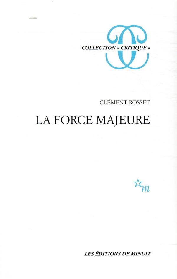 LA FORCE MAJEURE