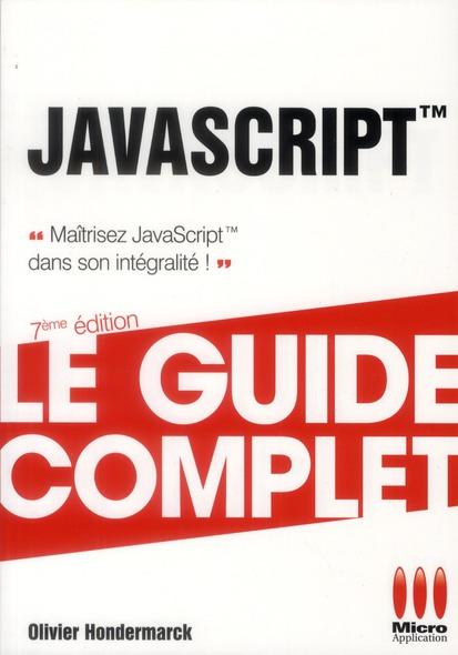 Javascript (7e Edition)