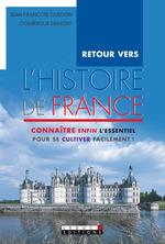 Vente Livre Numérique : Retour vers l'histoire de France  - Jean-François Guédon - Dominique Demont