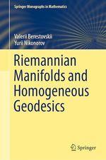 Riemannian Manifolds and Homogeneous Geodesics