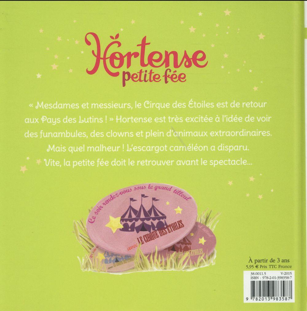 Hortense petite fée et le cirque des étoiles
