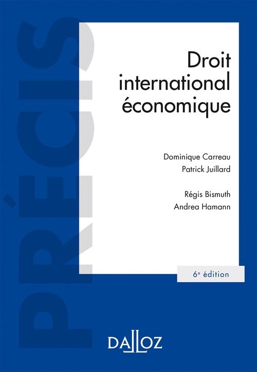 droit international économique (6e édition)