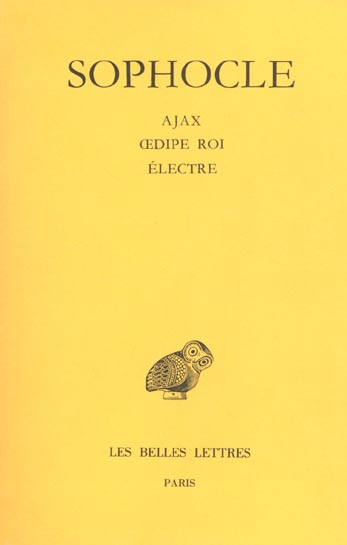 Ajax oedipe roi electre