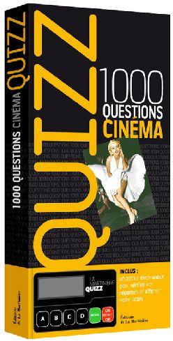 Quizz ; 1000 questions cinéma