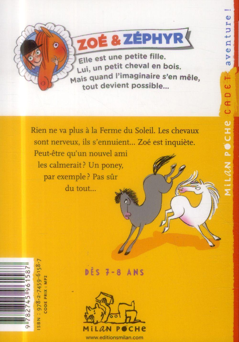Zoé & Zéphyr t.5 ; un poney à tout prix