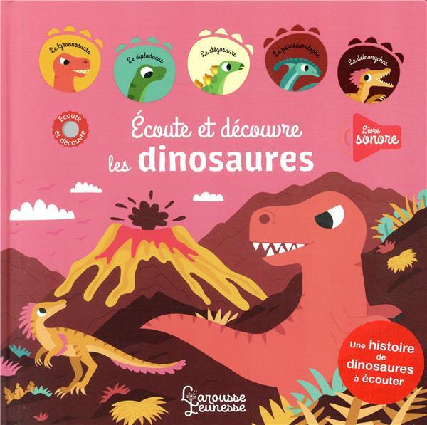 écoute et découvre, les dinosaures