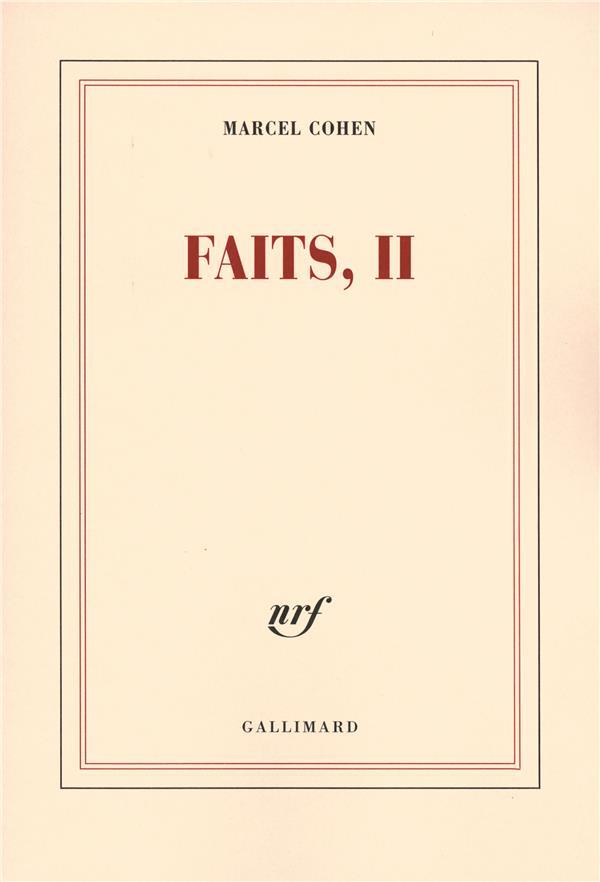 Faits t.2