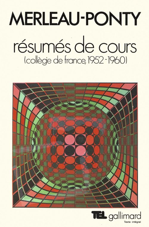 Resumes de cours - college de france (1952-1960)