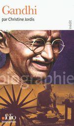 Vente EBooks : Gandhi  - Christine Jordis