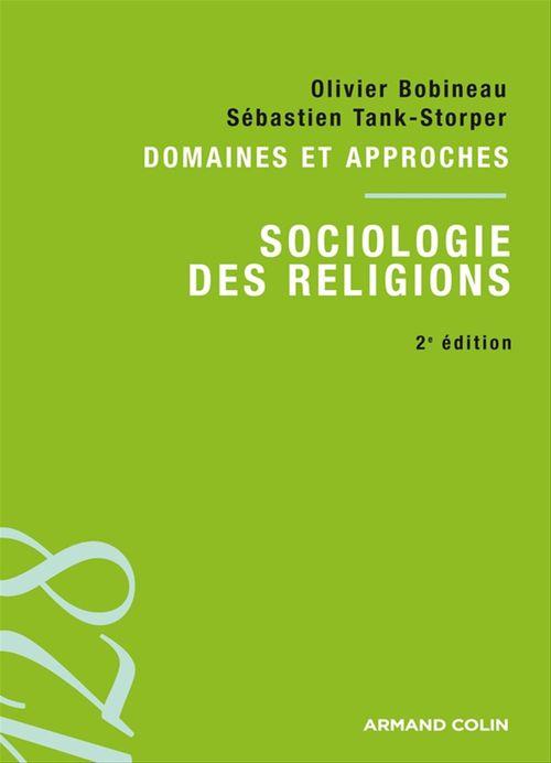 Sociologie des religions (2e édition)