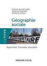Vente EBooks : Géographie sociale  - Amandine Chapuis - Fabrice Ripoll - Jean Estebanez - Sophie Blanchard
