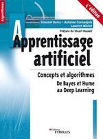 Apprentissage artificiel - 4e édition  - Laurent Miclet - Vincent Barra - Antoine Cornuéjols