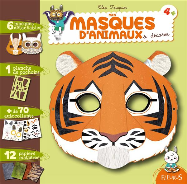 Mes Masques D'Animaux A Decorer