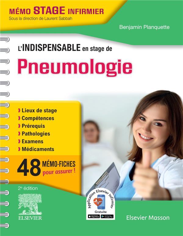 L'indispensable en stage de pneumologie (3e édition)