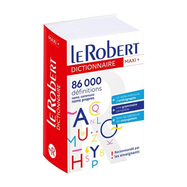 LE ROBERT & COLLINS ; MAXI + ; dictionnaire langue française