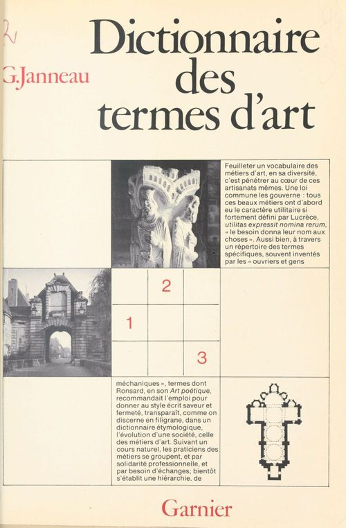 Dictionnaire des termes d'art