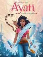 Vente Livre Numérique : Ayati T.1 ; la légende des cinq pétales  - Sandra Violeau
