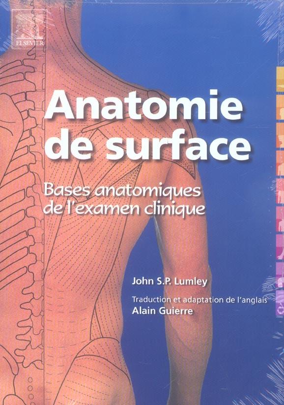 Anatomie De Surface. Bases Anatomiques De L'Examen Clinique