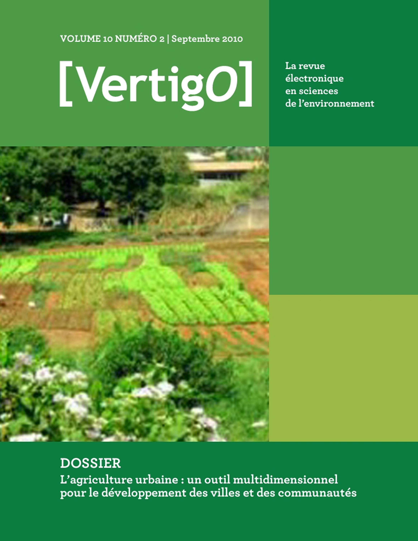 VERTIGO T.11/2 ; acteurs et projets au coeur des agricultures urbaines et périurbaines