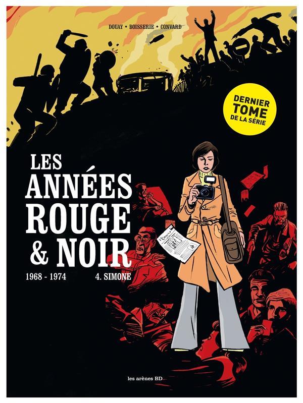 Les années rouge & noir T.4 ; Simone