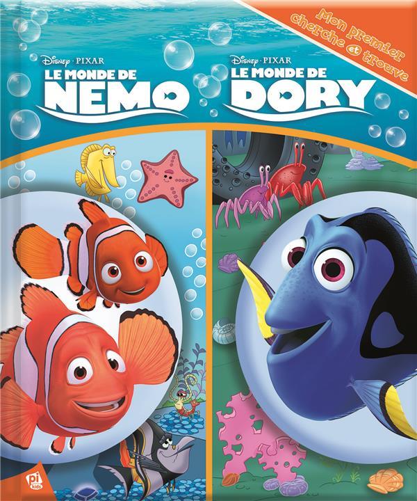 Mon premier cherche et trouve ; le monde de Nemo ; le monde de Dory