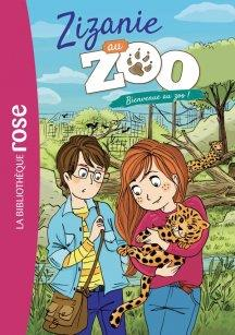 Zizanie au zoo T.1 ; bienvenue au zoo !