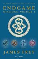 Vente EBooks : Endgame : Missions (volume 1). Chiyoko, Marcus, Alice, Kala  - James Frey - Nils Johnson-Shelton