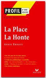 La place ; la honte d'Annie Ernaux