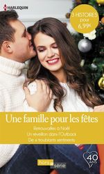 Vente Livre Numérique : Une famille pour les fêtes  - Susan Meier - Michelle Douglas - Teresa Carpenter